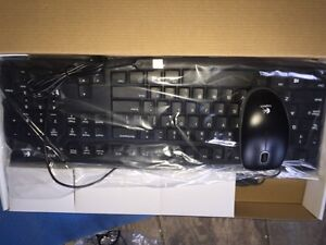 Brand-new in box  K120 and mouse