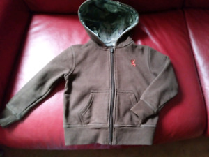 BROWNING zip hoody size 3T toddler EXCELLENT CONDITION $25 TAKES