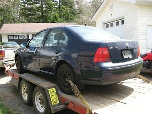 Parting out 2002 Volkswagon Jetta