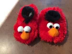 Sesame Street toddler slippers