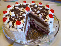 WANTED! DAIRY-FREE (VEGAN ACCEPTABLE) BLACK FOREST CAKE!