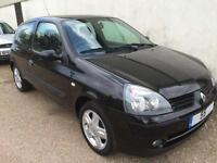 2006 Renault Clio 1.2 ( 75bhp ) Campus Sport *** ONLY 14k**** 1 Lady owner