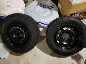 BRAND NEW HANKOOK WINTER TIRES WITH RIMS 4SET