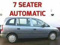 AUTOMATIC 7 SEATER VAUXHALL ZAFIRA CLUB LOW MILES 2003