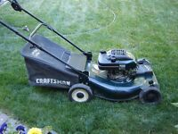 Lawnmower Craftsman 6.5-hp with Bag 100% Serviced