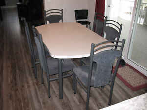 table @ chairs