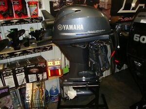 New 2014 30hp Yamaha outboard.