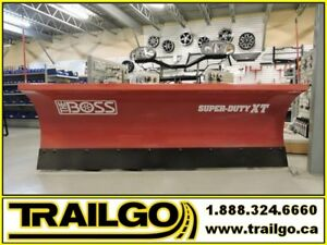 "5 Pelles a neige Boss 8'6"" XT Super Duty/ Truck Plow"