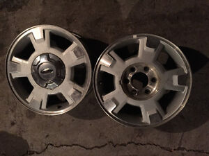 """(2) Single rims for FORD TRUCK F-150.   17"""""""