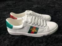 Brand new Gucci Bee trainers Size 6