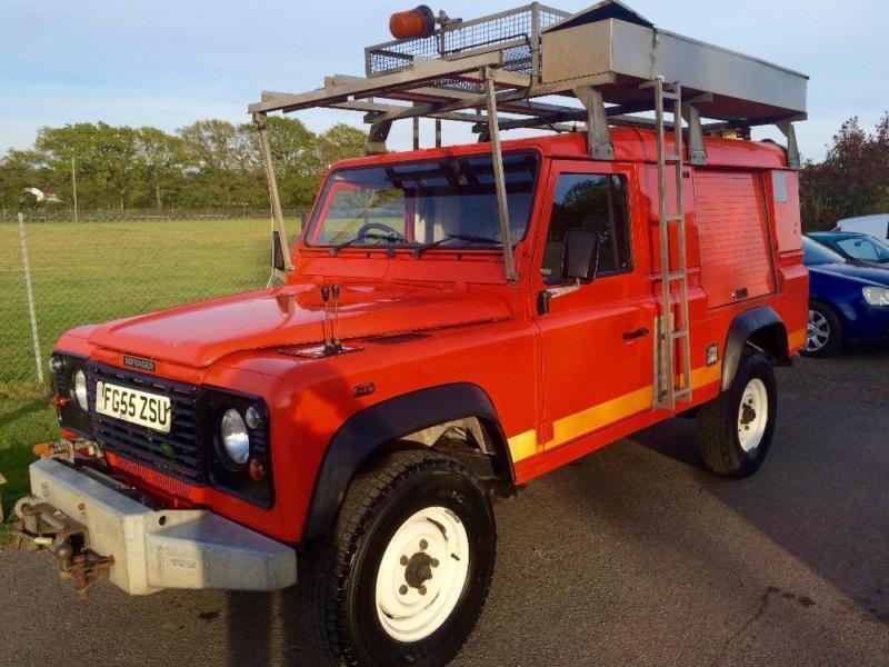 LAND ROVER DEFENDER 110 HARD-TOP TD5, Red, Manual, Diesel, 2006