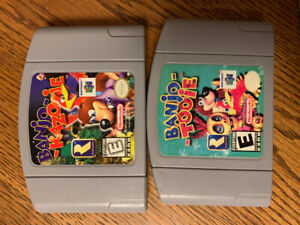 N64 Games Banjo-Kazooie & Banjo-Tooie For Sale Or Trade $80 FIRM