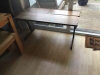 1970's school desk