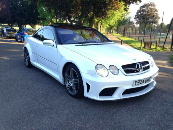 Mercedes cl55 amg auto classifieds united kingdom for 2001 mercedes benz cl500 for sale