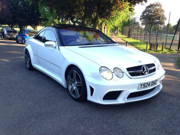 2001 Mercedes Benz Cl500 2001 Mercedes Cl500 White
