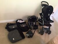 Britax Stroller Buggy with lots of accessories!