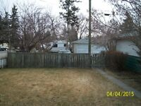 Double R2 lot with raised bungalow, rented