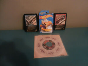 The Beatles Collection 45 RPM, Track Tapes, Hot Wheel Lot of 4