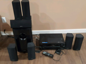 Onkyo 7.1 channel home theater audio video receiver