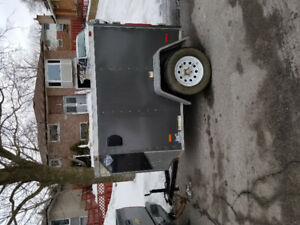 Enclosed 4x6 trailer for sale