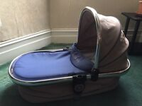 Icandy peach carrycot-Azure