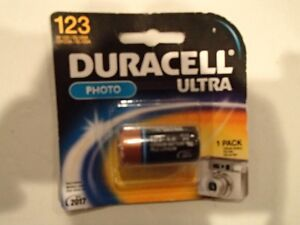 Duracell Ultra 123 and Energizer 123 Lithium Batteries - New Sarnia Sarnia Area image 3