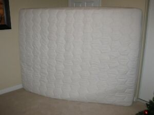 NEW White Matrand Latex plush mattress with mattress cover