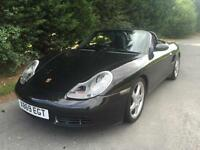 2000 PORSCHE BOXSTER S 3.2 PETROL 6 SPEED MANUAL SPORTS CONVERTBILE