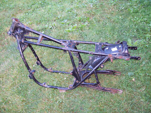 1978 Honda CB750 CB 750 frame with swingarm