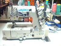 JUKI INDUSTRIAL COVERSTITCH SEWING MACHINES USED