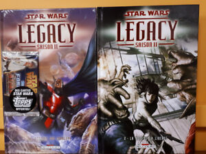 Star Wars Legacy II Hardcovers Éditions Delcourt 2014