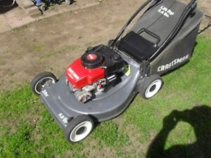 "20"" CRAFTSMAN lawnmower 4.5 hp. w/ catcher."
