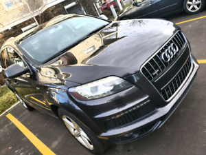2011 Audi Q7 S-line 7-Seats ONE OWNER / Remote Starter