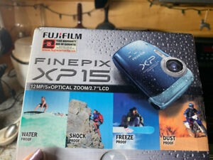 Fujifilm Finepix XP 15 waterproof camera
