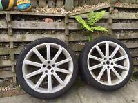 "Genuine Range Rover 22"" Alloy wheels"