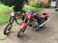 Motorcycle project pair of Jawa 350's