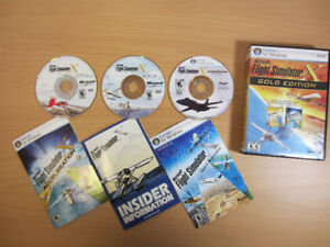 Microsoft Flight Simulator X GOLD EDN w/Acceleration Pack KEYS