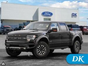 2014 Ford F-150 SVT Raptor Crew, 4WD w/Leather, Moonroof, Nav!
