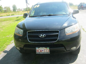 2008 Hyundai Santa Fe grey cloth SUV, Crossover