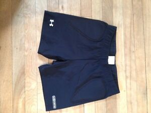 Women's under armour spandex shorts