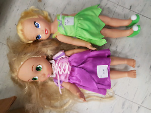 "Disney Princess 12"" dolls"
