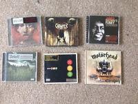 x6 CDs Slipknot, Motörhead, HIM, Blink 182+