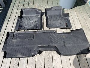 Weather Tech mats and Factory seat covers to fit Ford F150