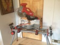 Milwaukee miter saw and other power tools