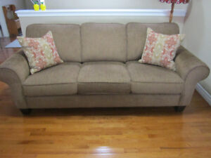Couch & Ottoman - Almost NEW