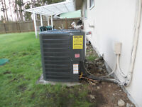 Sales and/or installation of heat pump, AC electric furnace ect.