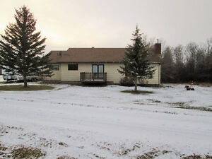 Enjoy the tranquility that acreage living provides!