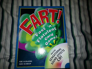 Fart! Fast 'n' Flatulent Card Games London Ontario image 1