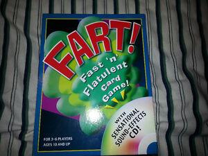 Fart! Fast 'n' Flatulent Card Games London Ontario image 1