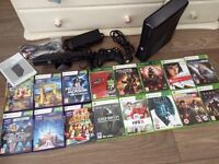 Xbox 360 4gb, Kinect & 16 games
